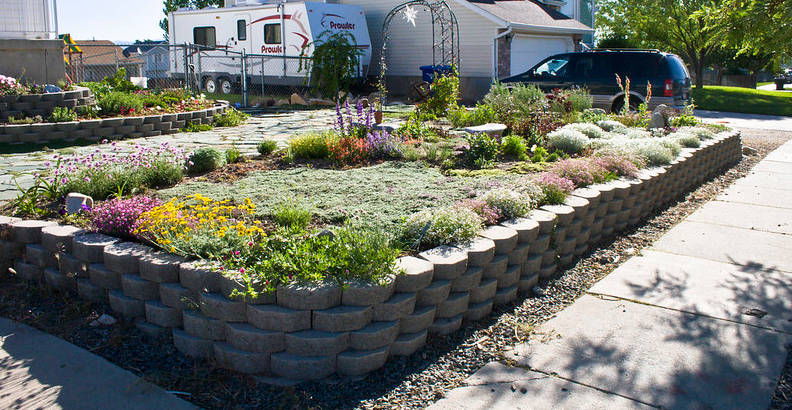 exemple de jardin sec aménagé