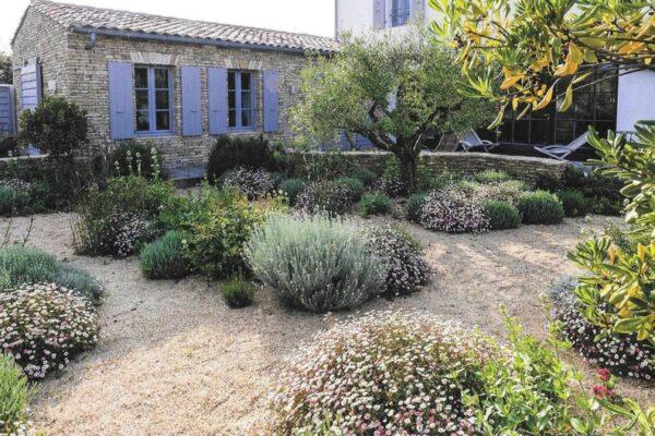 Le jardin sec contemporain : un concept à la mode.